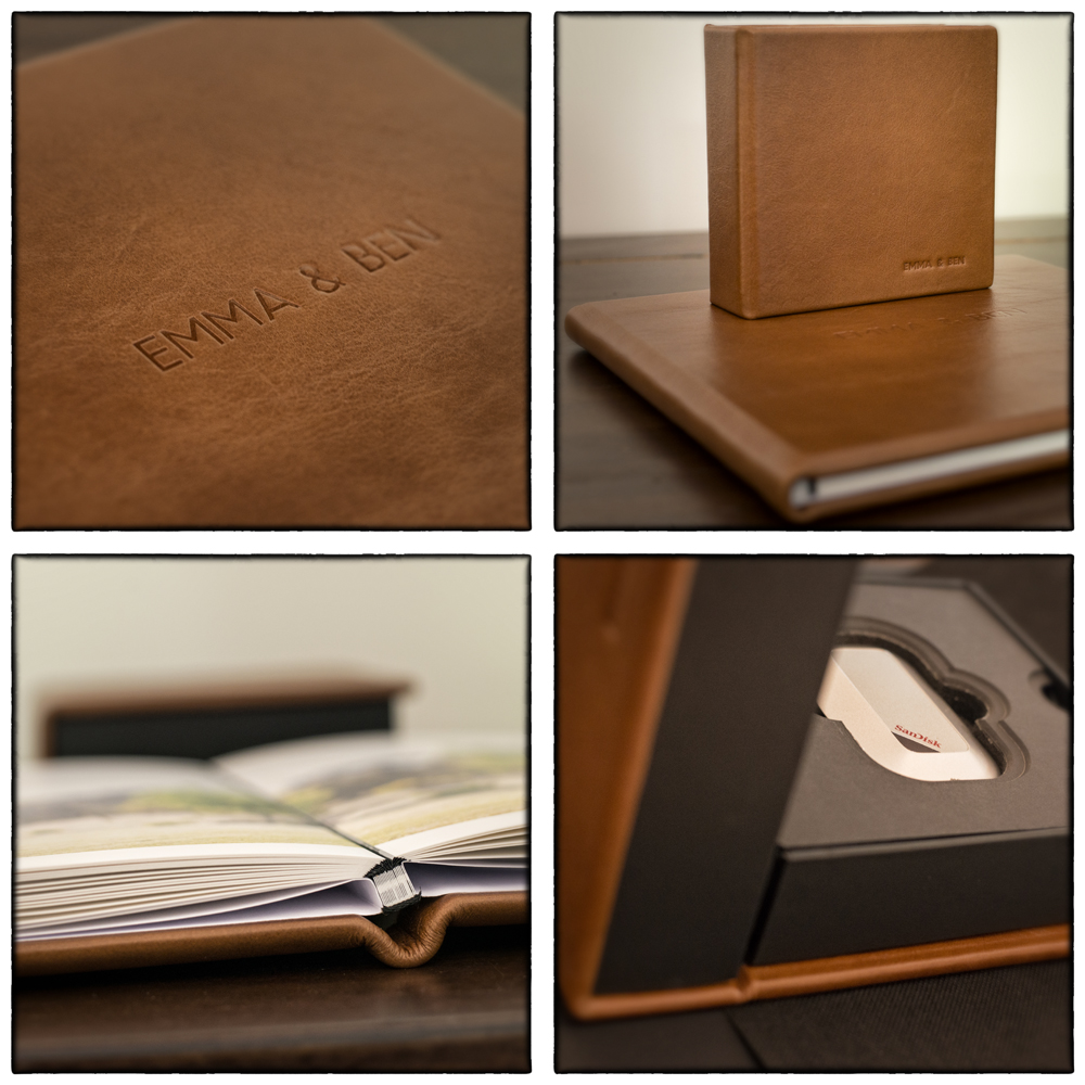 Leather Album and Memory Vault