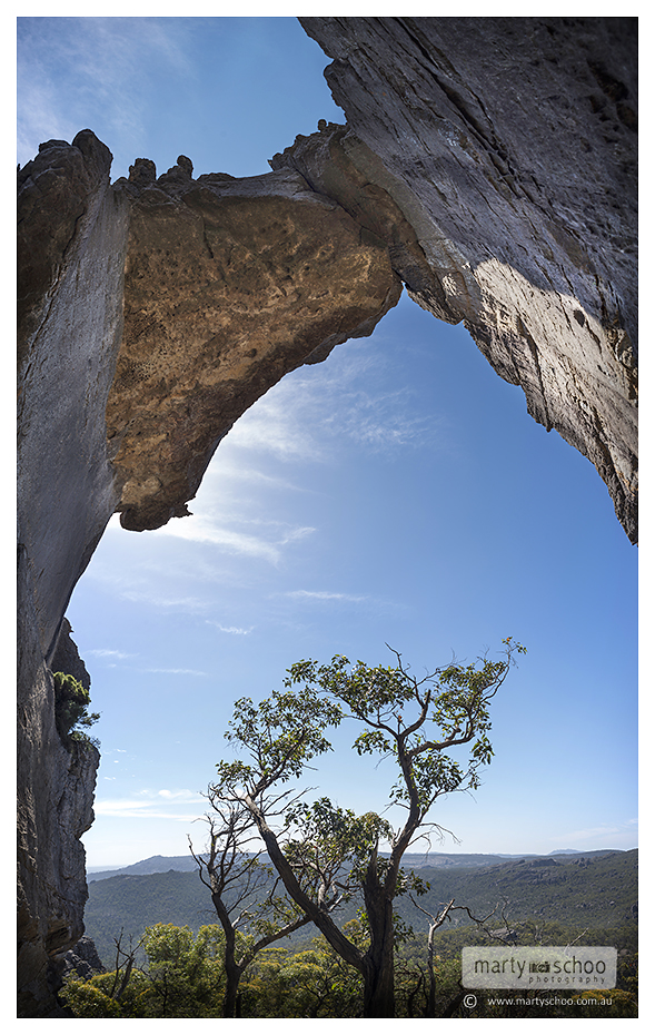 Hole in the Wall - Grampians - Marty Schoo